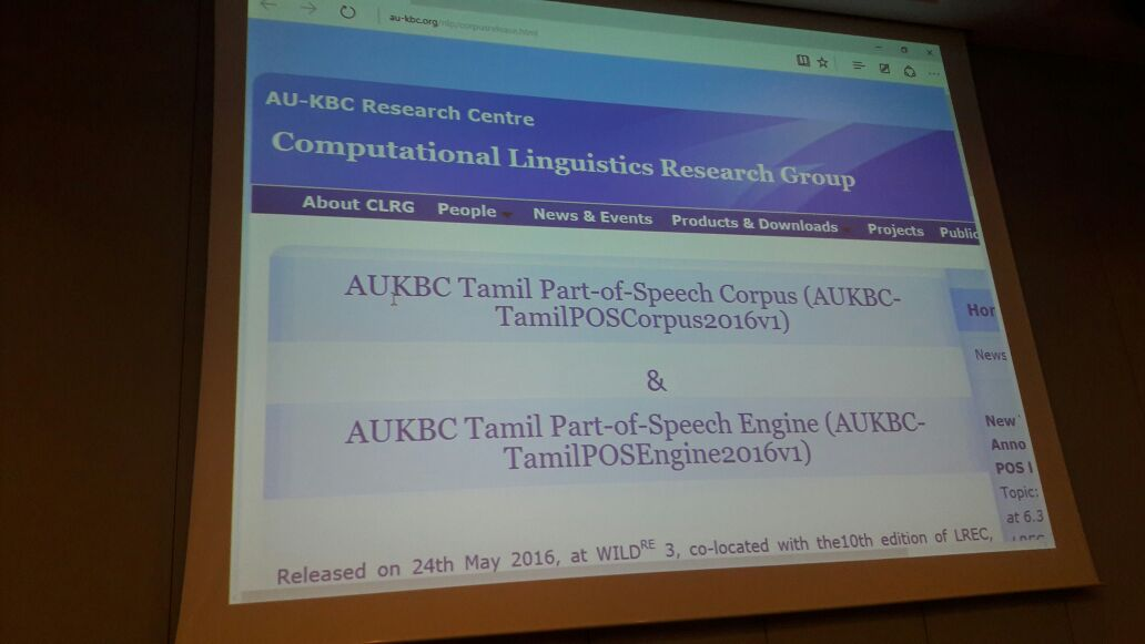 Computational Linguistic Research Group